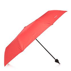 Parasol z otwieraną rączką, czerwony, PA-7-180-2, Zdjęcie 1