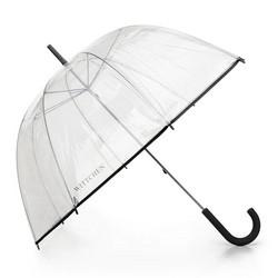 Parasol transparentny, czarny, PA-7-190-1, Zdjęcie 1