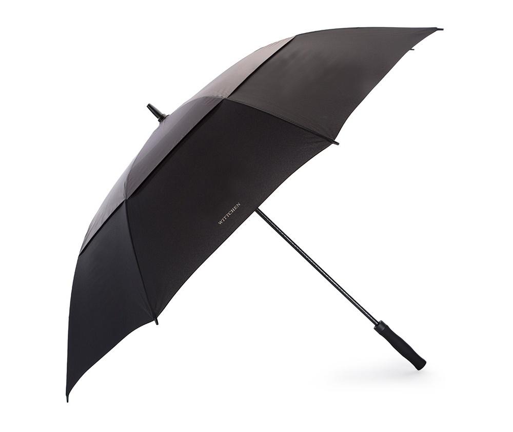 0a5a775882ff1 Parasol, czarno - szary, PA-7-150-1S, Zdjęcie 1