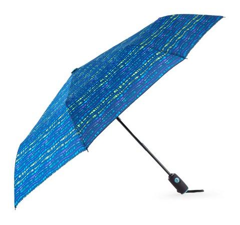 Parasol, niebiesko - zielony, PA-7-154-Z, Zdjęcie 1