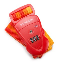Luggage strap lock, red, 56-30-013-30, Photo 1