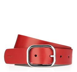 Pasek damski, czerwony, 85-8D-304-3-XL, Zdjęcie 1