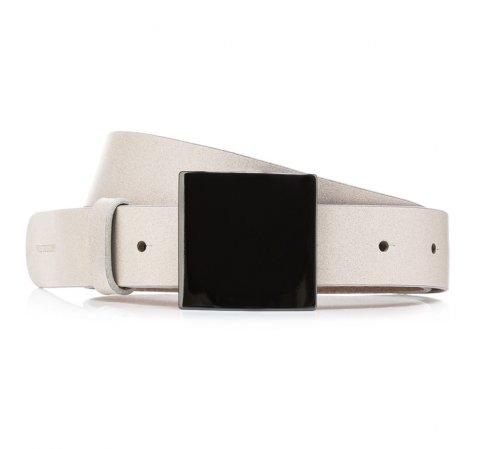 Pasek damski, biały, 85-8D-307-0-S, Zdjęcie 1