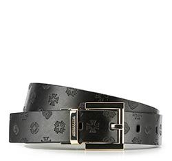 Women's belt, black, 86-8D-300-1-2X, Photo 1