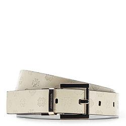 Women's belt, ecru, 86-8D-300-7-XL, Photo 1