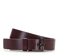 Women's belt, burgundy, 86-8D-305-2-S, Photo 1