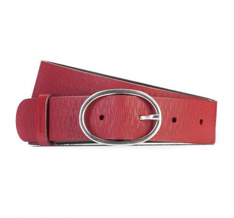 Pasek damski, czerwony, 87-8D-306-3-S, Zdjęcie 1