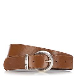 Pasek damski, brązowy, 87-8D-310-5-M, Zdjęcie 1