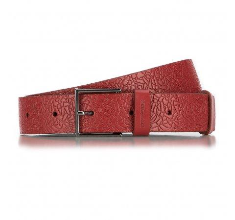 Pasek damski, czerwony, 89-8D-306-3-S, Zdjęcie 1