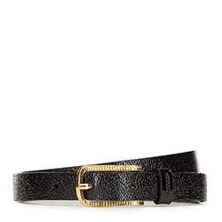 Women's belt, black, 91-8D-315-1-M, Photo 1