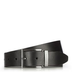 Men's belt, black, 70-8M-007-1-10, Photo 1