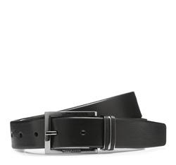Men's belt, black, 85-8M-306-1-13, Photo 1