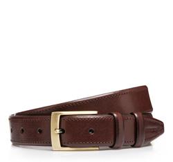 Men's belt, brown, 85-8M-308-4-11, Photo 1