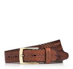Men's belt, brown, 85-8M-309-5-11, Photo 1