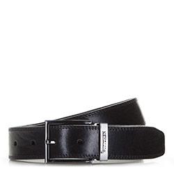 Men's belt, black, 86-8M-301-1-11, Photo 1