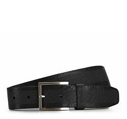 Men's belt, black, 86-8M-304-1-11, Photo 1