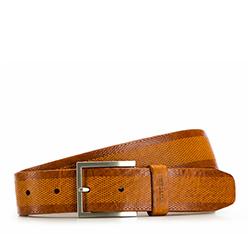 Men's belt, brown, 86-8M-304-5-10, Photo 1