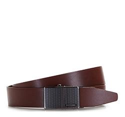 Men's belt, brown, 86-8M-306-5-10, Photo 1