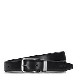 Men's belt, black, 86-8M-308-1-90, Photo 1