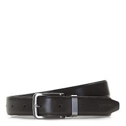 Men's belt, graphite, 86-8M-308-8-90, Photo 1