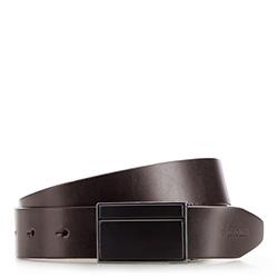 Men's belt, dark brown, 86-8M-309-4-11, Photo 1
