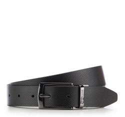 Men's belt, black, 86-8M-312-1-11, Photo 1