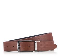 Men's belt, light brown, 86-8M-312-5-11, Photo 1