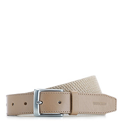 Men's belt, beige, 86-8M-314-9-12, Photo 1