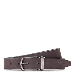 Men's belt, grey, 86-8M-316-8-10, Photo 1