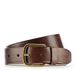 Men's belt, brown, 86-8M-318-4-12, Photo 1
