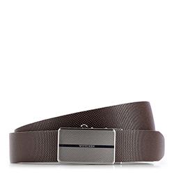 Men's belt, dark brown, 86-8M-320-4-11, Photo 1