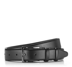 Men's belt, black, 86-8M-325-1-11, Photo 1