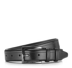 Men's belt, black, 86-8M-326-1-11, Photo 1