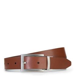Men's belt, brown, 87-8M-301-4-90, Photo 1