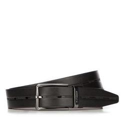 Men's belt, black, 87-8M-302-1-13, Photo 1