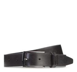 Men's belt, black, 87-8M-308-1-90, Photo 1
