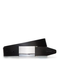 Men's belt, black, 87-8M-313-1-13, Photo 1