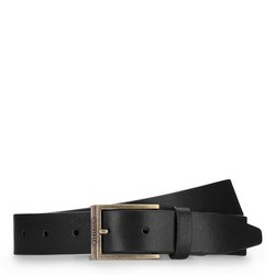 Men's belt, black, 87-8M-317-1-90, Photo 1