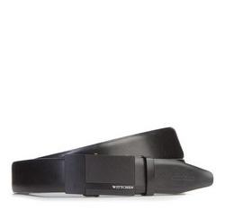 Men's belt, black, 87-8M-320-1-90, Photo 1