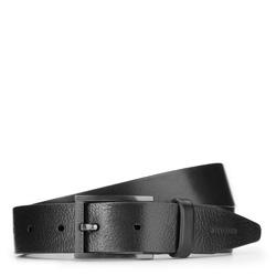 Men's belt, black, 87-8M-323-1-11, Photo 1