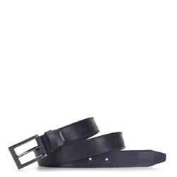 Mens' belt, navy blue, 91-8M-312-7-10, Photo 1