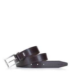 Men's leather belt, brown, 92-8M-360-4-90, Photo 1