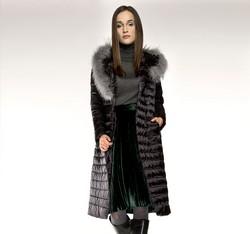 Kurtka damska, czarny, 85-9D-305-1-S, Zdjęcie 1
