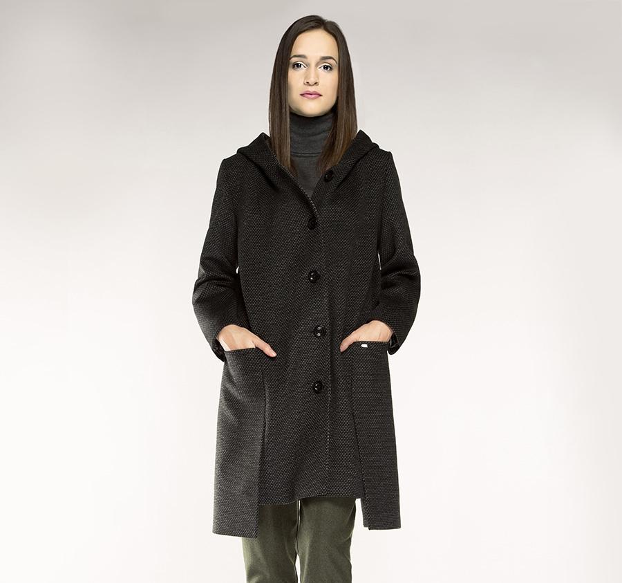 85-9W-100-8 Płaszcz damski
