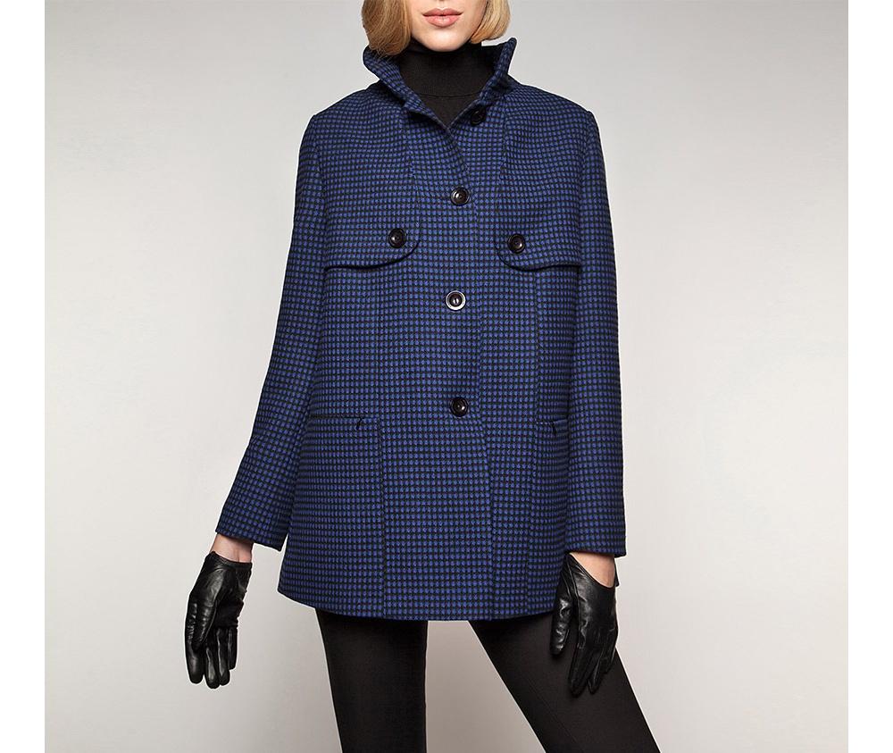 Куртка женская Wittchen 85-9W-102-7, синийКуртка женская<br><br>секс: женщина<br>Цвет: синий<br>Размер INT: L<br>материал:: Полиэстер<br>подкладка:: acetat<br>примерная общая длина (см):: 80