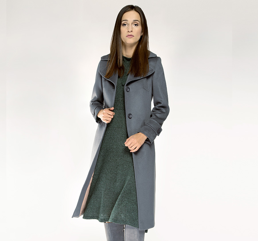 85-9W-109-8 Płaszcz damski