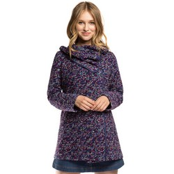 Women's coat, blue-violet, 86-9W-112-7-L, Photo 1