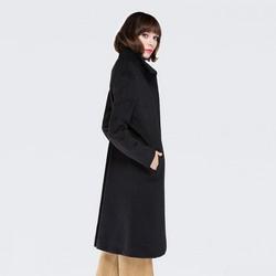 Płaszcz damski, czarny, 87-9W-110-1-2X, Zdjęcie 1