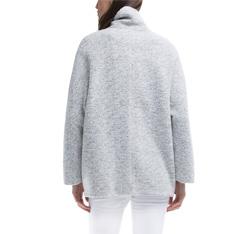 Płaszcz damski, jasny szary, 84-9W-104-9-XL, Zdjęcie 1