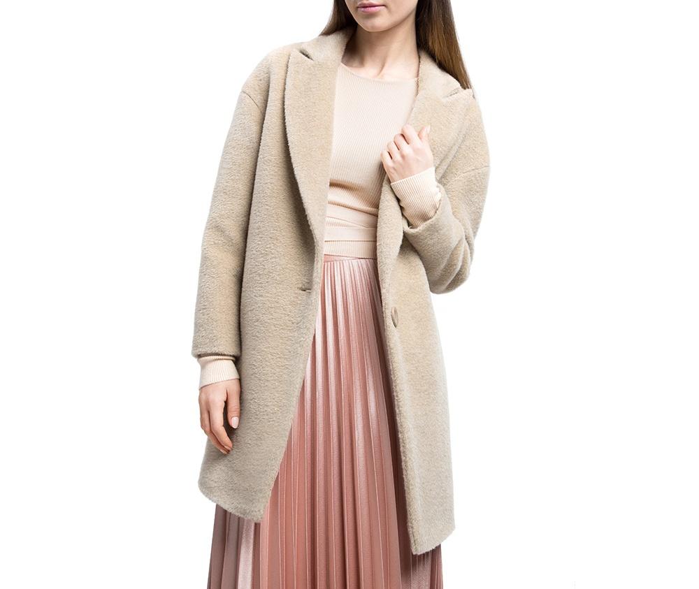 Плащ женский Wittchen 84-9W-103-9, бежевыйЖенское пальто из шерсти, с добавлением полиэстера. Такое сочетание материала позитивно влияет на стабильность модели и делает пальто не мнущимся. Модель пальто с отложным воротником, застегивается на пуговицу, а так же оно имеет два открытых внешних кармана. Удобный крой, в сочетании с самым высоким качеством исполнения будет надежной защитой в холодную погоду.<br><br>секс: женщина<br>Цвет: бежевый<br>Размер INT: XXL<br>материал:: Шерсть<br>подкладка:: полиэстер<br>примерная общая длина (см):: 85